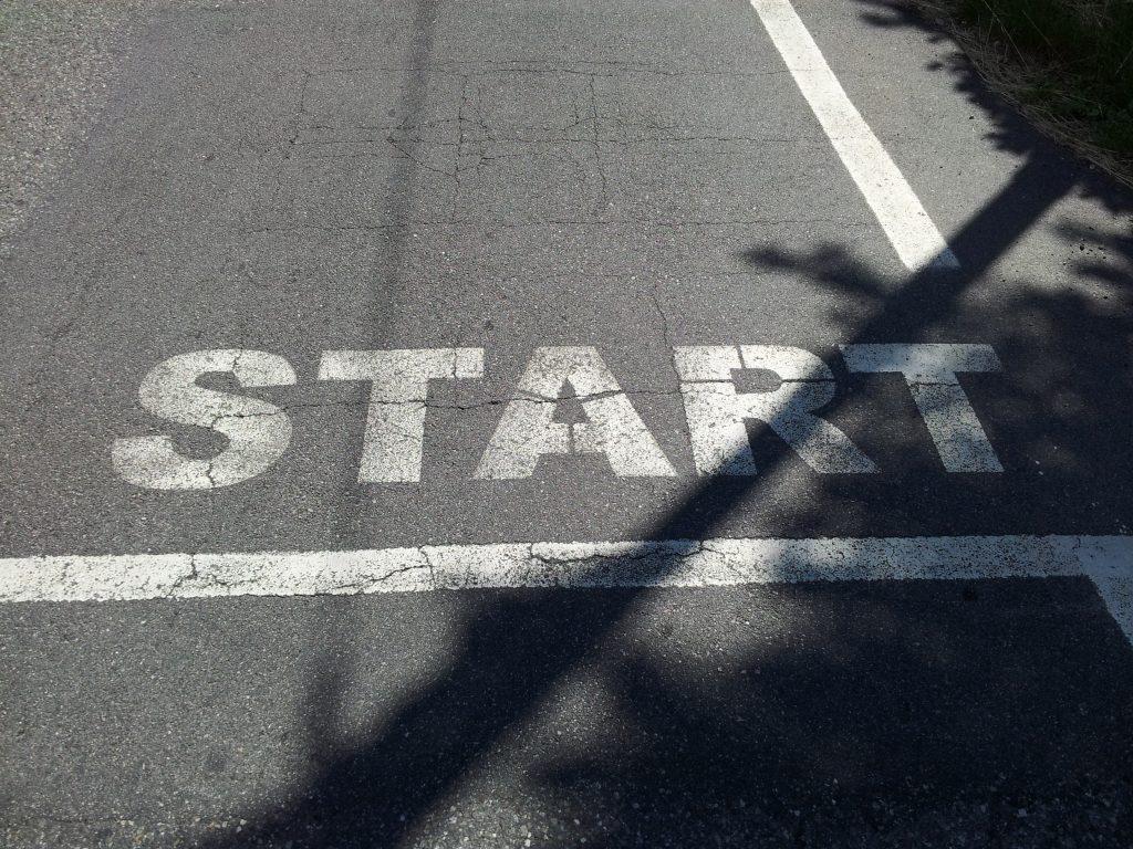 Startstrek for syklister :)