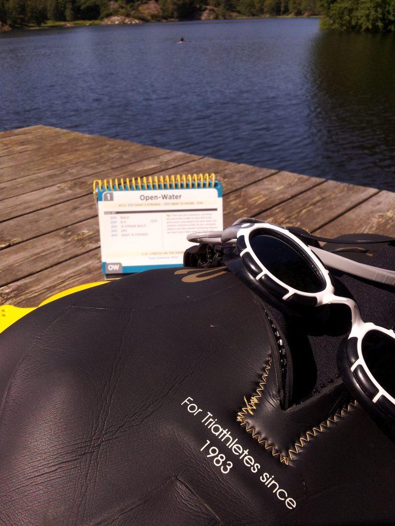 "Storfornøyd med ""zoggs predator"" svømmebriller og aquaman gold cell våtdrakt."