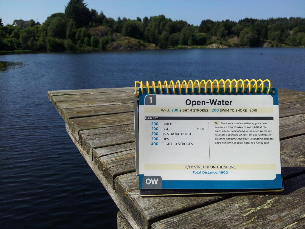 Kjekt med vanntett svømmeprogram :)
