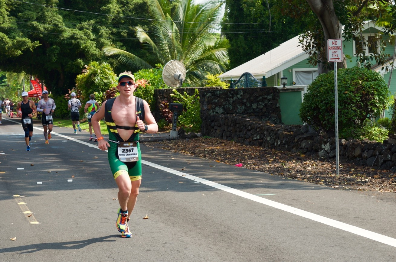 Race Report - IM Hawaii, Hans Christian bilde 2
