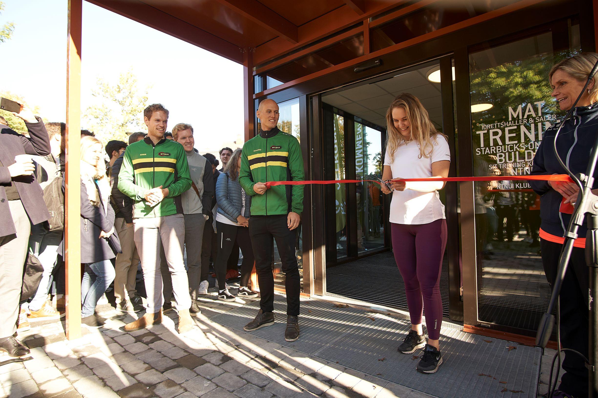 Åpning av Idrettsbygget Gløshaugen